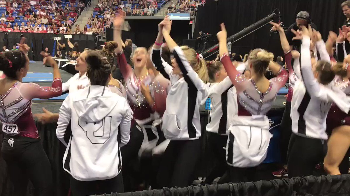 Winning another national title calls for a dance party!