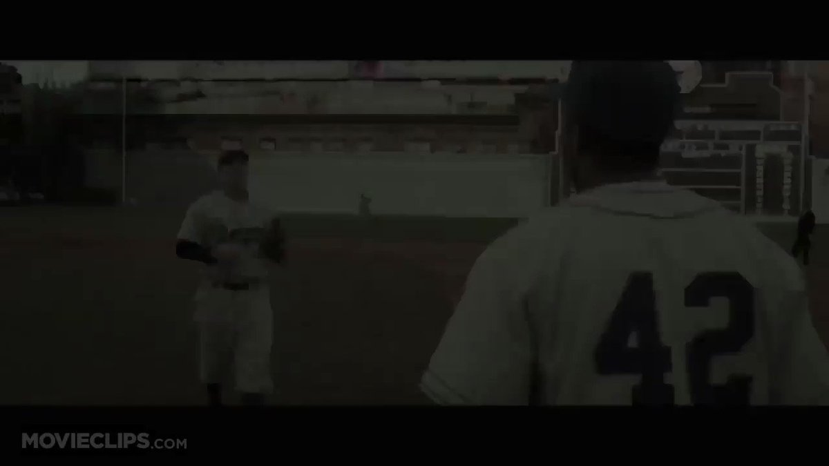 This scene will forever give me the chills #JackieRobinsonDay