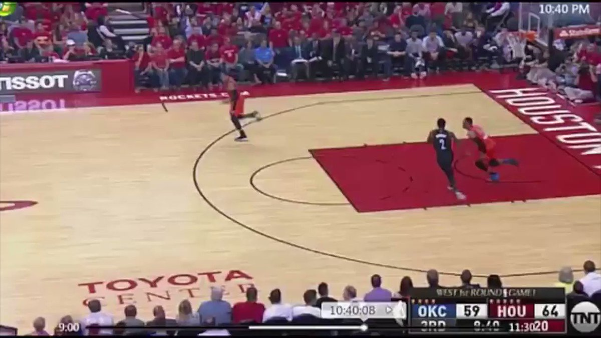 The Steven Adams pick on Patrick Beverly set to Jim Ross. 😂😂😂 https://...