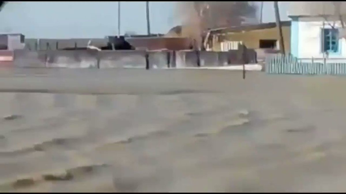 Flooding in Kazakhstan