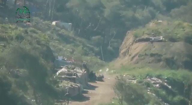NE Latakia: Ahrar Al-Sham wiped out a group of pro-Assad with a Metis near Saraf in Jebal Turkman.