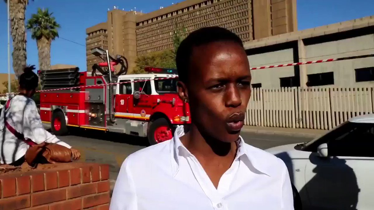 Lol what a description 😂😂#TheRoofIsOnFire #BraamfonteinFire