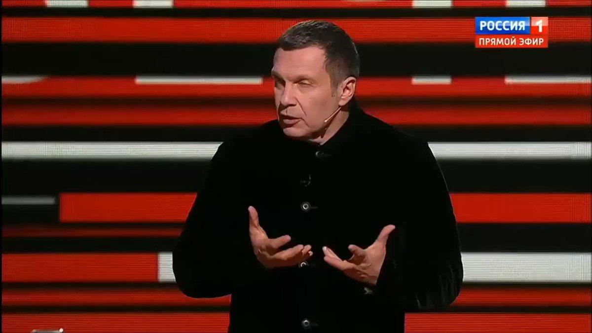 Russian propaganda talk show calls Ukraine president an alcoholic day after Poroshenko said Russia is a crocodile