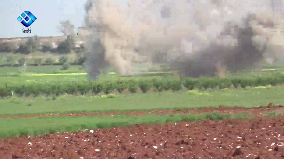 N. Hama: close call with a volley of Grad rockets.