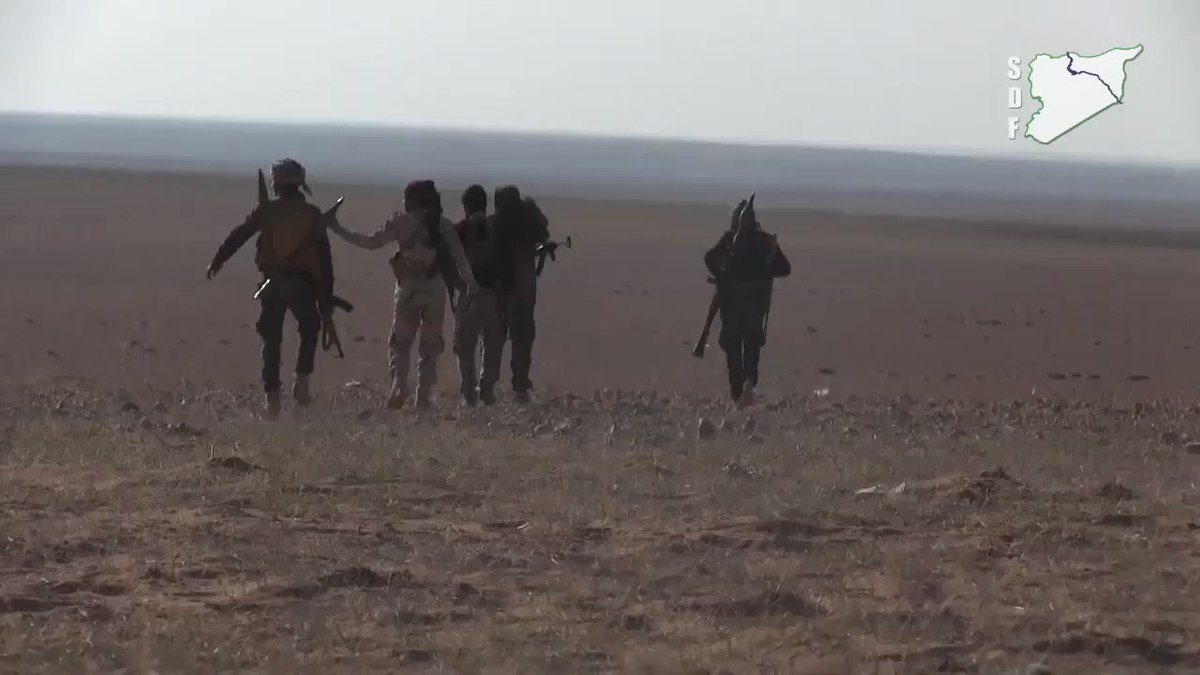 The SDF Have Clashed With ISIS Militants In Hazima Village From The Raqqa Countryside On Their Campaign #WrathOfEuphrates Against Daesh