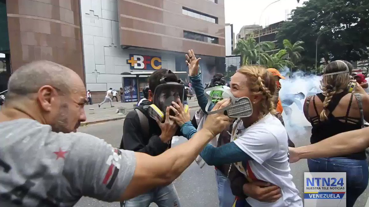 Video: Clashes in El Rosal