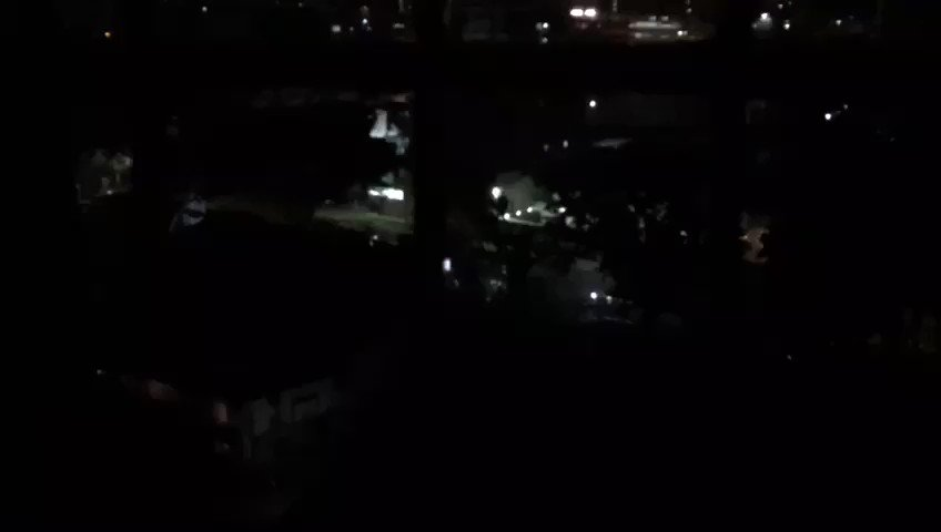 Caracas: heavy gunfire in El Paraiso