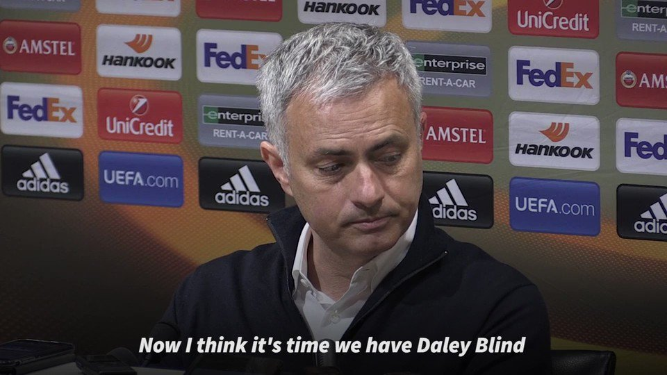 Mourinho challenged Jones and Smalling last night after Luke Shaw ende...