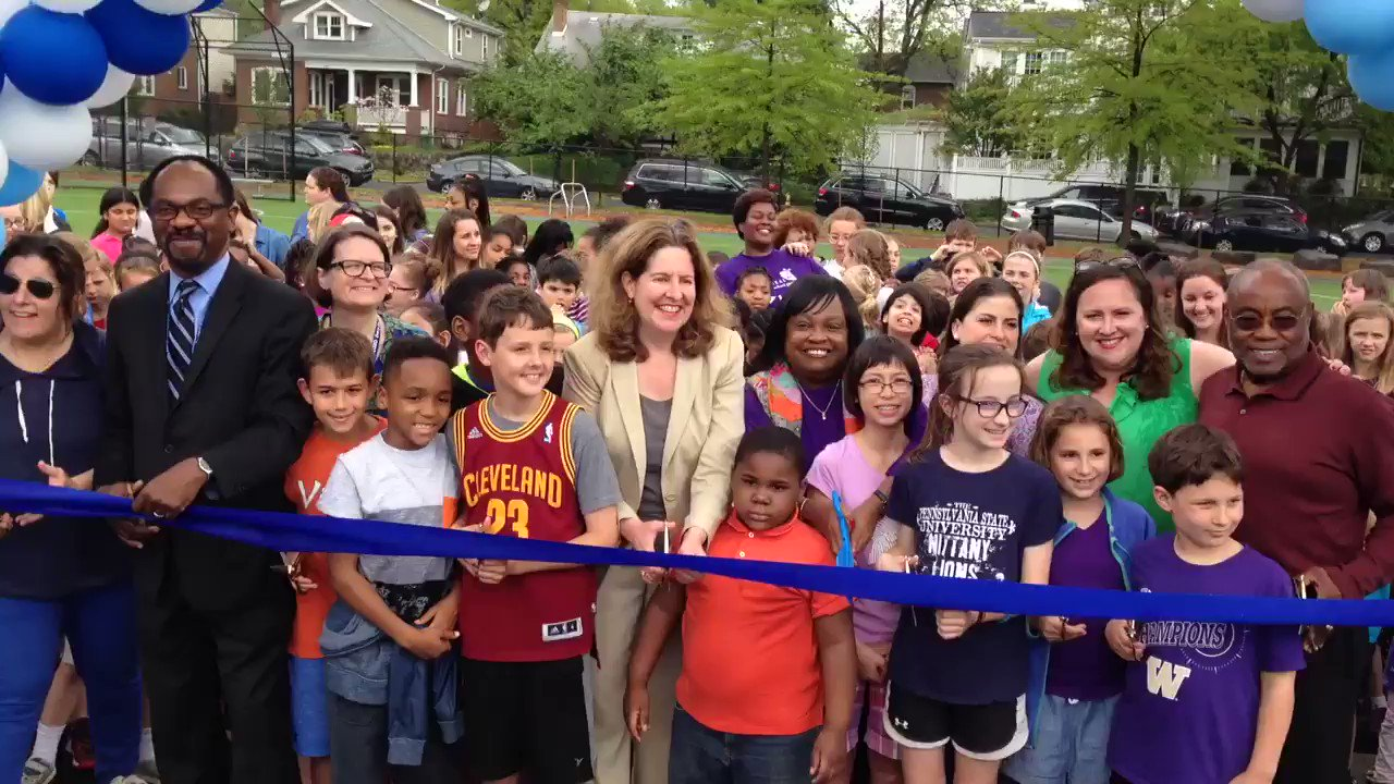 Thumbnail for Maury Cuts the Ribbon its New Schoolyard