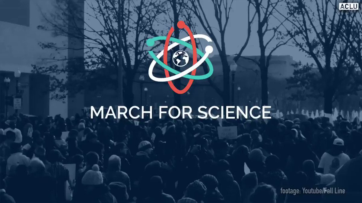 Marching for science this weekend? Know your rights. #marchforscience #KnowYourRights