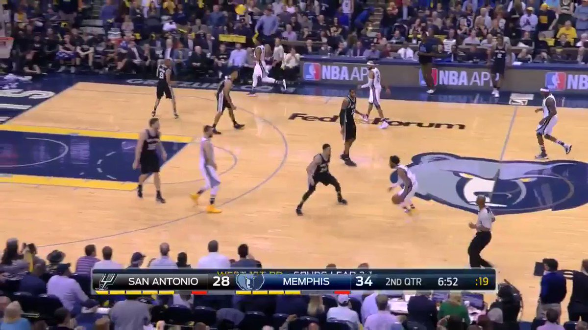 Mike Conley's good at basketball. https://t.co/Vbn65MR54Y