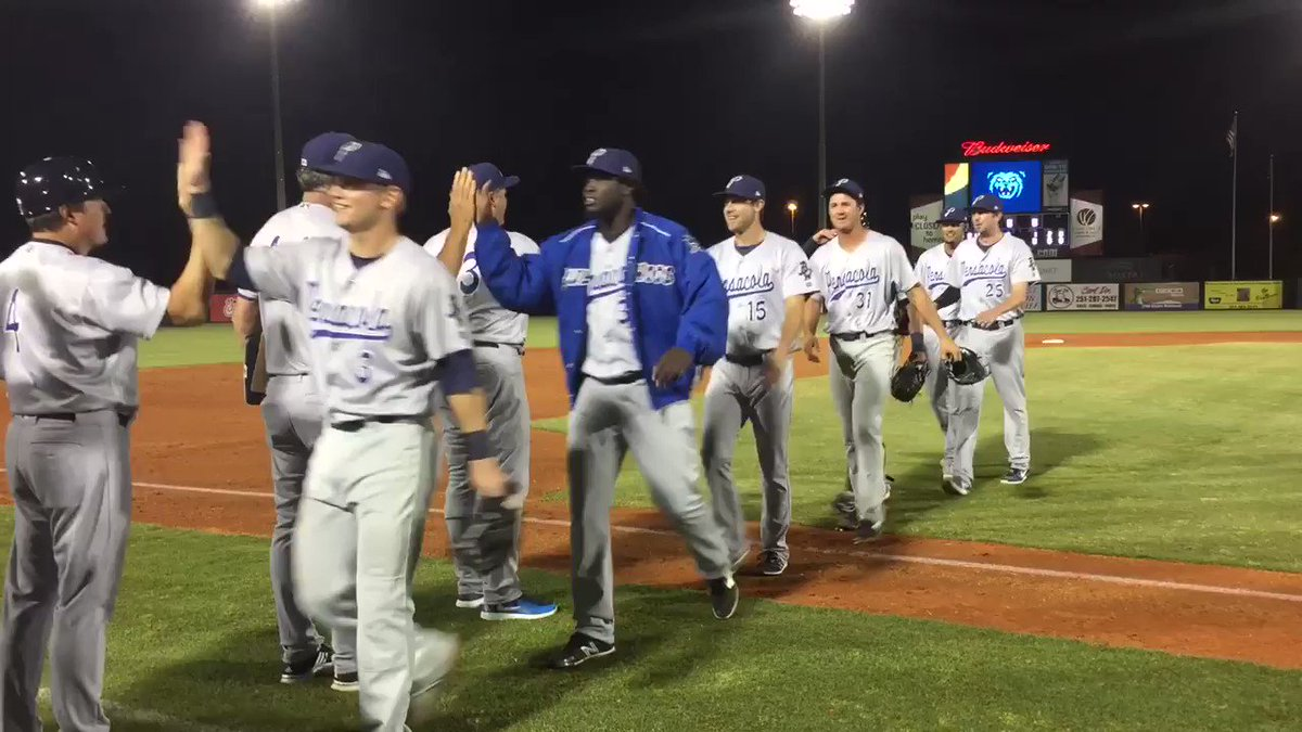 .@tylermahle with the first Blue Wahoos perfect game in team history! #wahooslife https://t.co/PGqc3kqxP0
