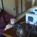 91歳の元陸軍伍長(航空総軍司令部付)に「トラ・トラ・トラ」を打電してもらいました。 pic.twi…