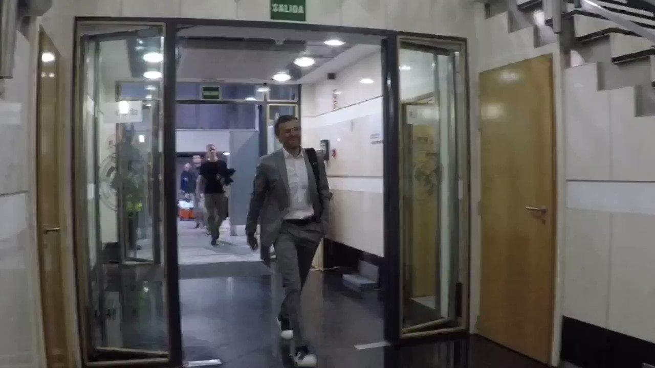 📍Santiago Bernabéu 💪#ElClasico 🔵🔴#ForçaBarça https://t.co/rtMk1Cv0DV