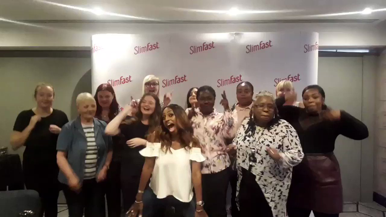 Can't wait to meet some #SlimFastStars at the @SlimFastUK roadshow this week & share our weight loss journeys #ad ❤x https://t.co/kAr6M9V9RS