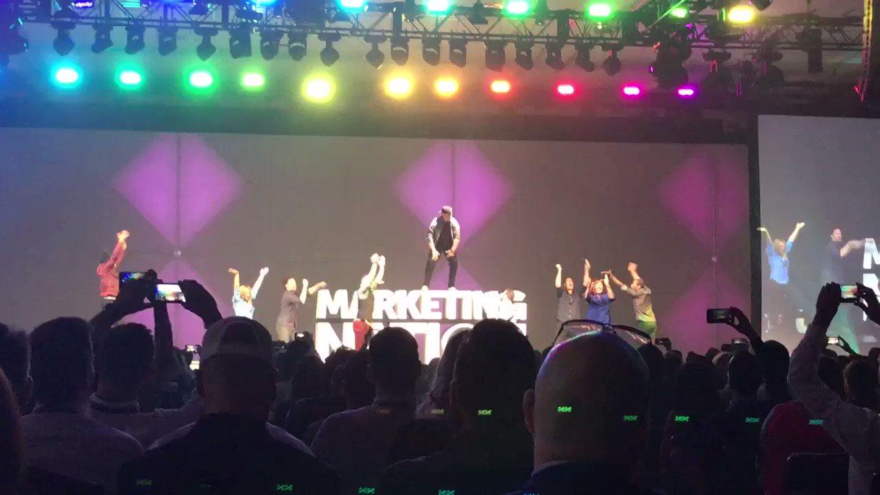 RT @alexclarke_b2b: Wow... go @marketo! We're pumped! #MKTGNATION #SanFran https://t.co/3ASEk4vgPJ