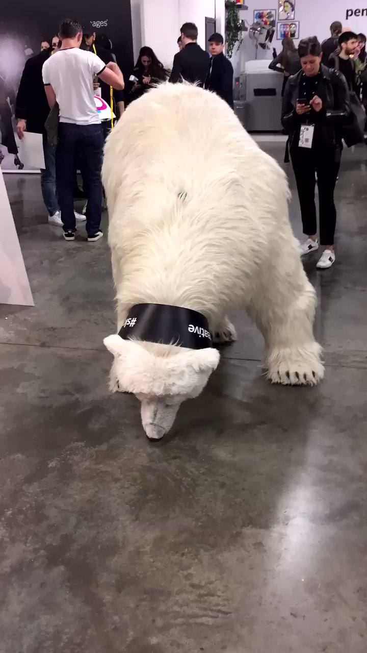 RT @girlondon: When #robotics get real. Just a polar bear at @dandad Festival #skycreative #design #tech #dandad17 https://t.co/ESktN3qh3u