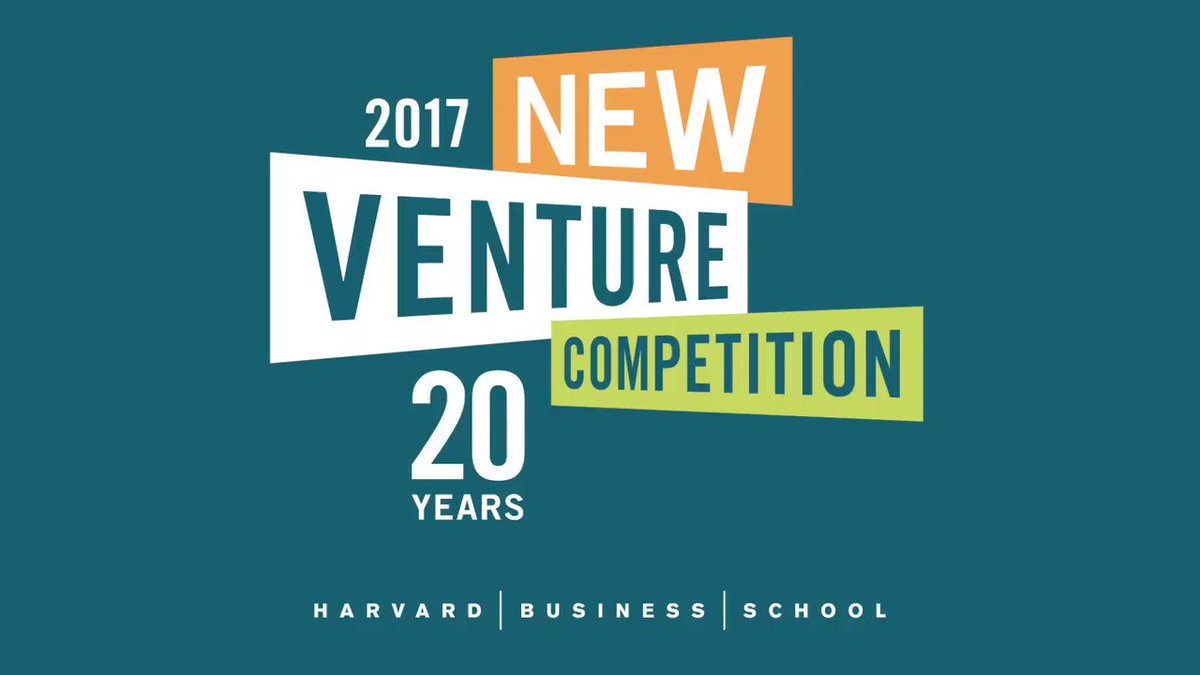Congratulations to Apli, winner of the New Venture Competition @hbsalumni track #HBSNVC