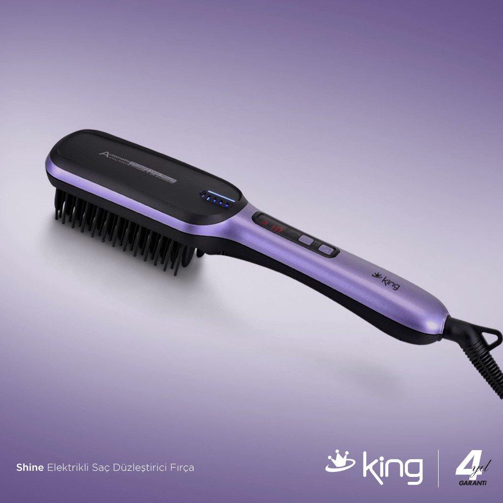 Saç Fırçası ve Saç Düzleştirici Kullanım Şekilleri