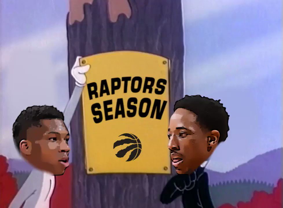 'Shhh...be quiet! I'm hunting championships.'   The @Raptors try to en...
