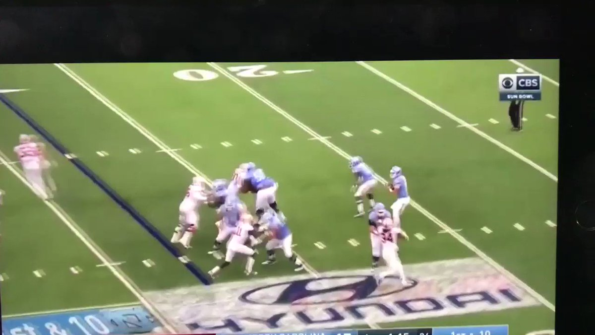 That time Mitch Trubisky threw 4 touchdowns on one last-minute drive: https://t.co/fzkVMhjOe8