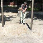 上野公園にすごいおじいちゃんおる(撮影許可、投稿許可いただきました。) pic.twitter.co…