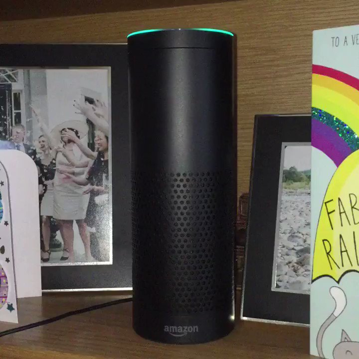 Got one of these for my birthday. I wasn't convinced by its usefulness UNTIL NOW. #edballsday #alexa https://t.co/j1aRS1VDrv