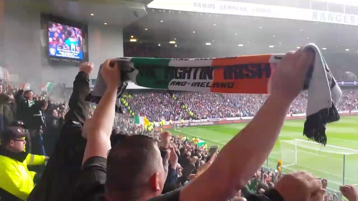 Scotty Sinclair song at Ibrox.