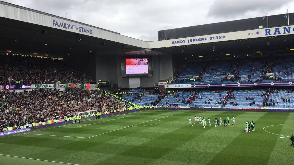 Celtic fans were class again today! And I was having my own party while filming this one at the end... https://t.co/NHdgphzZdw