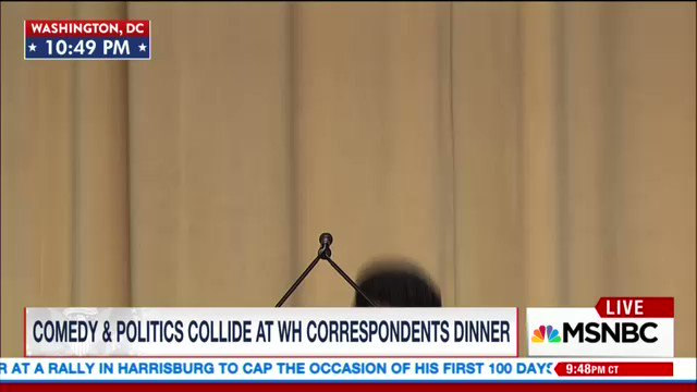 Pretty great. He just slayed the night. Smart as hell, and perfect timing. Know the name. Hasan Minhaj! #WHCD2017 https://t.co/CikMPYU5wH