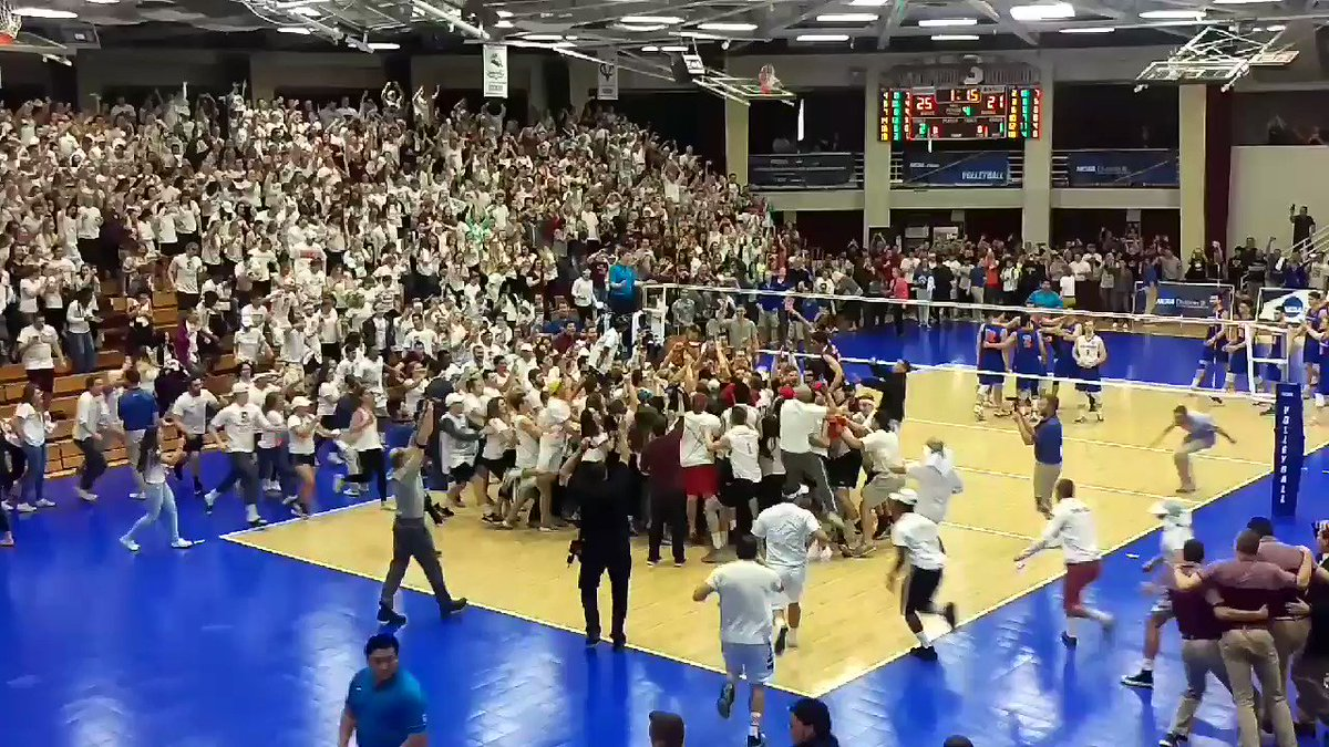 NATIONAL CHAMPS! - Springfield College men's volleyball wins 2017 NCAA Division III Men's Volleyball Championship! https://t.co/HnEqn0bpF0