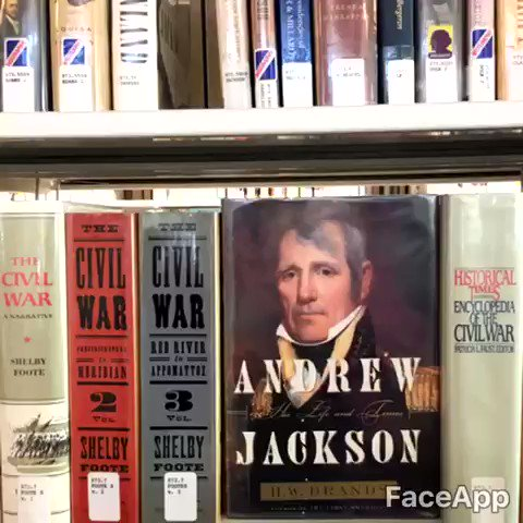 PSST. Over here. I kinda know a little bit about the #CivilWar. Hit me up in the 973.7s. #AndrewJackson https://t.co/GL4BsiSvmD