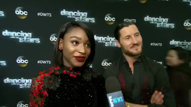 VIDEO   Normani Kordei In 'Heaven' After Perfect 'DWTS' Score (via @enews)