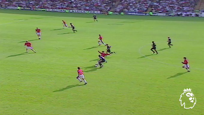 Premierleague: Remember this?  Happy birthday David Beckham