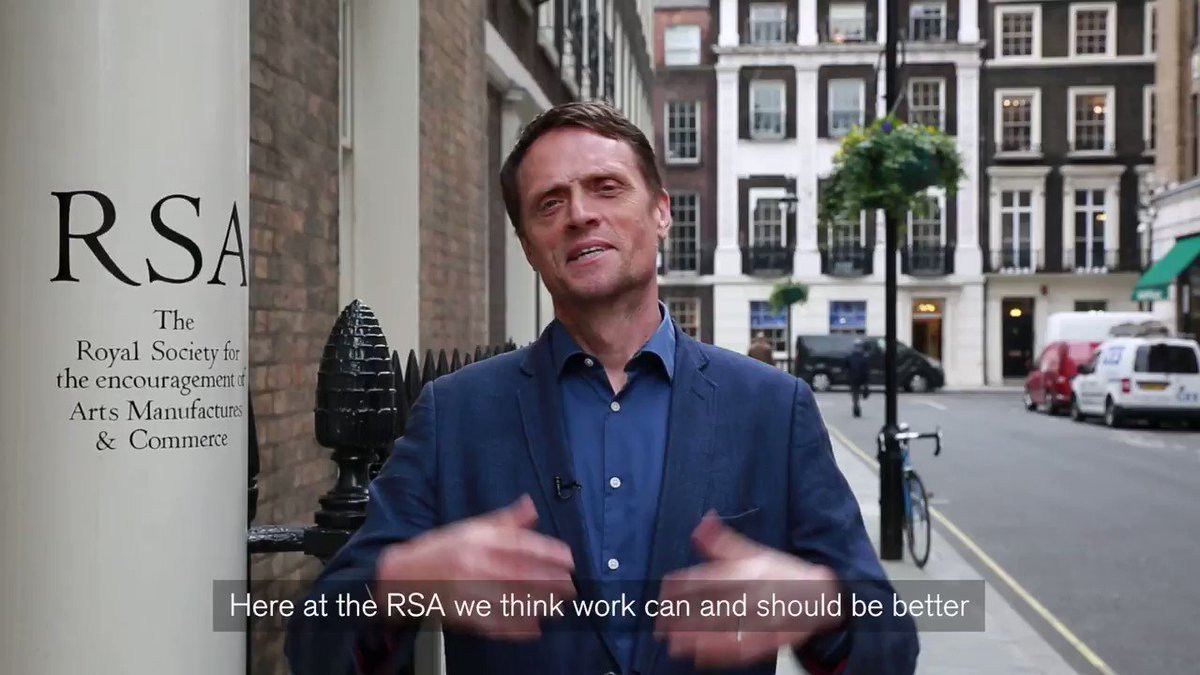 We @theRSAorg think work can and should be better. Tell us what good work means for you using #GoodWorkIs https://t.co/jHIVch7u0k