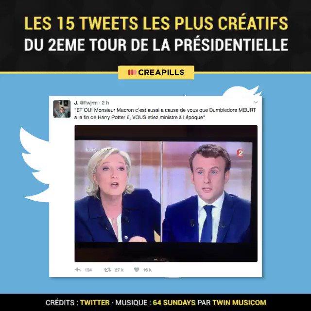 Les internautes ont sauvé le débat avec leur humour 😂 #LeGrandDebat #LEDEBAT2017