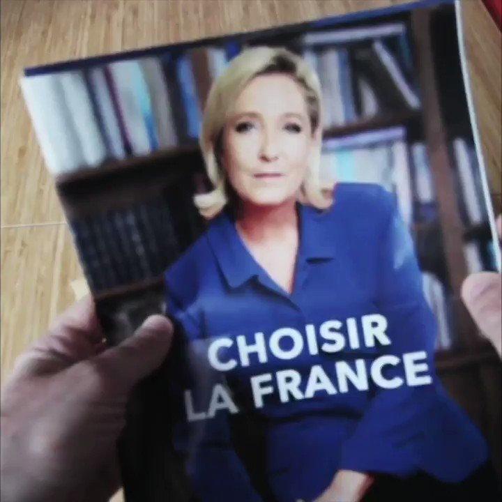Réception des nouveaux plis électoraux... #LeGrandDebat