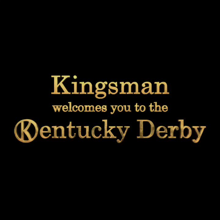 Fellow Statesman, join me in raising a glass to #KentuckyDerby143 from #Kingsman: The Golden Circle. https://t.co/KVEQhsxmTQ