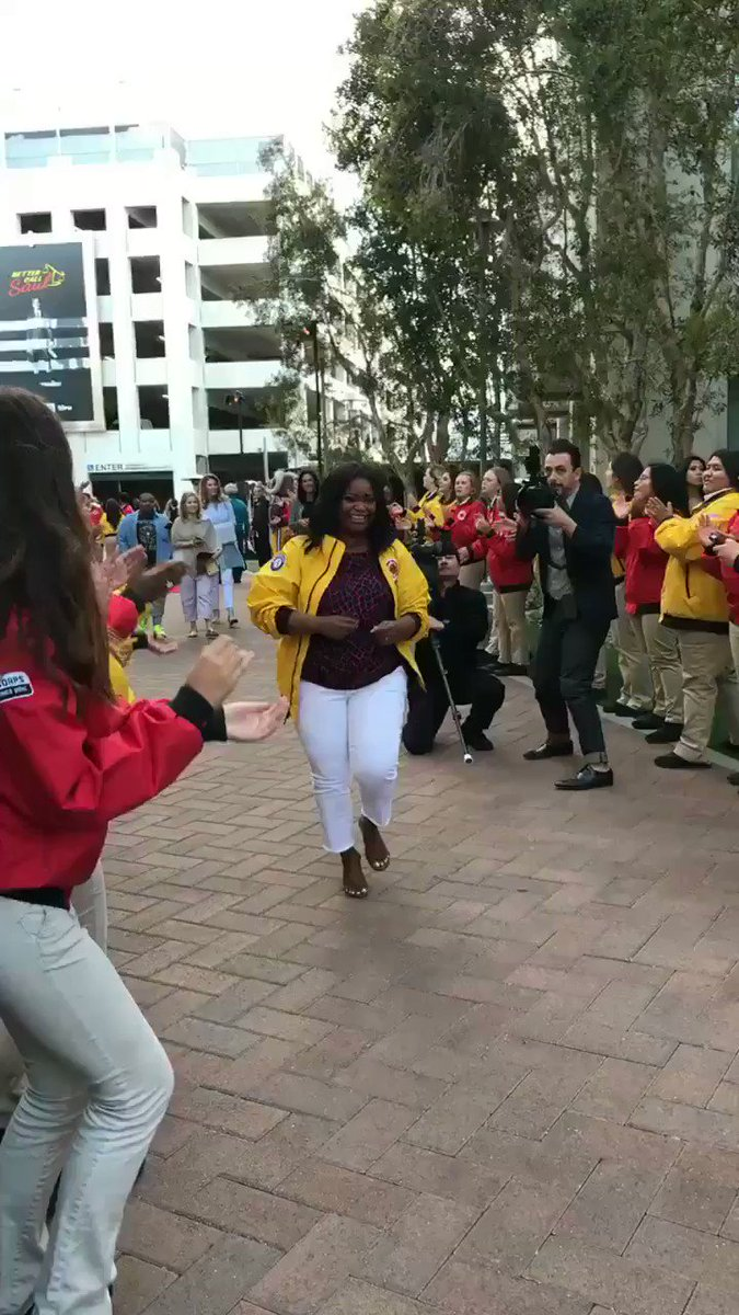 Our super champion & City Year LA board member @octaviaspencer has arrived! Welcome, Octavia! https://t.co/Sj84H9wr7w