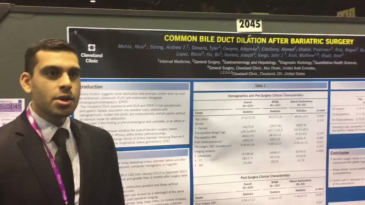 Neal Mehta : Dr Neal Mehta discusses looked common bile duct