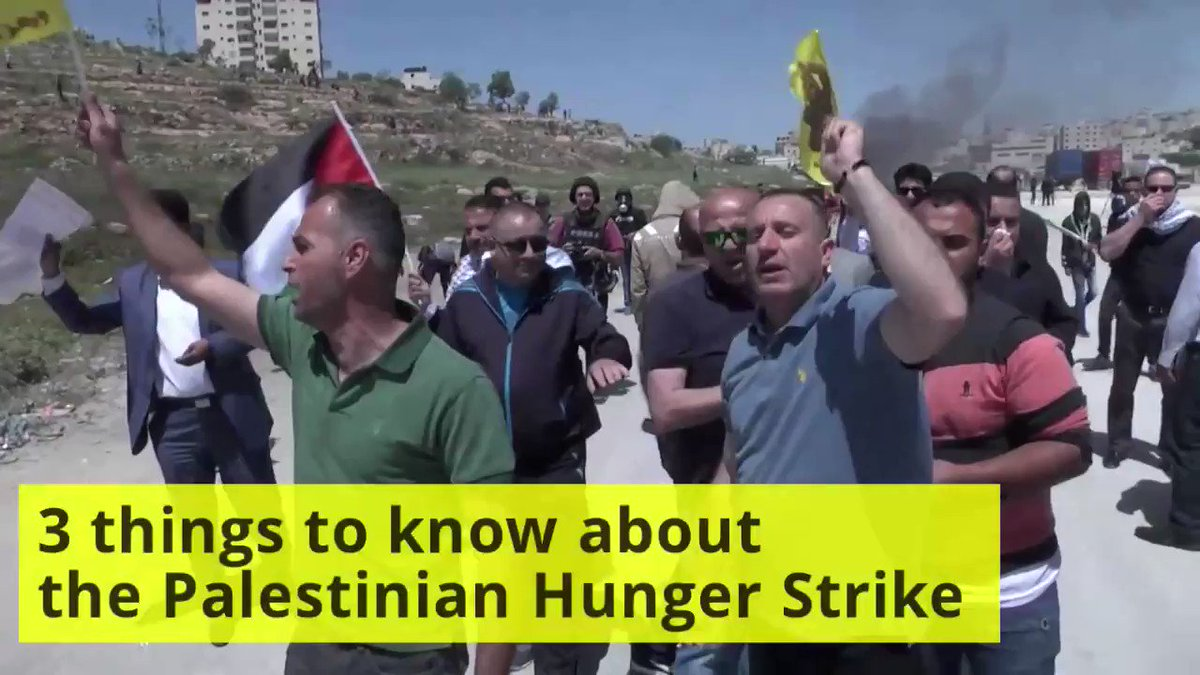 Three things you should know about the Palestinian prisoners' hunger strike: https://t.co/PEwOyyLuVu
