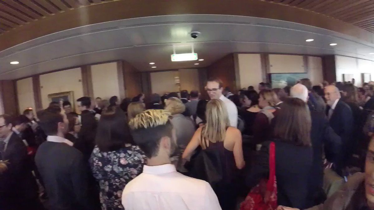 A view from above at the Federal Budget. See what happens inside the Budget #Budget2017 #auspol https://t.co/RiQ0uLkSQV