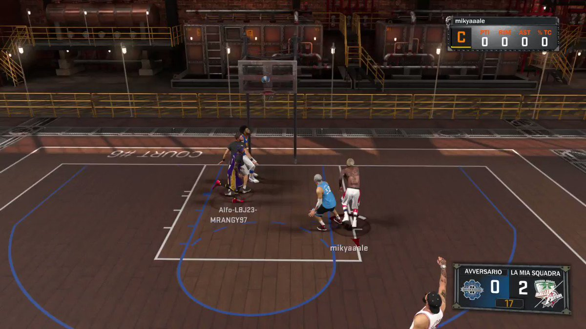 Best ACTION!Rebound-Ankle-Best Dunk! #PS4share #TvWOW #MyPark  https://store.playstation.com/#!/it-it/tid=CUSA05036_00…