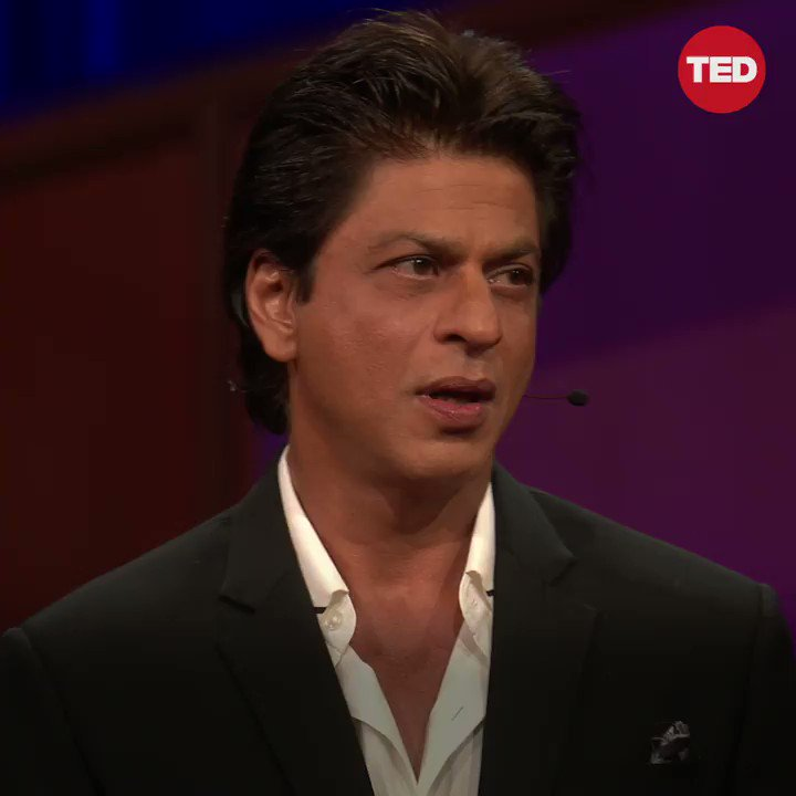 .@iamsrk on the power of love.  Watch Shah Rukh Khan's full TED Talk: https://t.co/uJqZ3JFIn1
