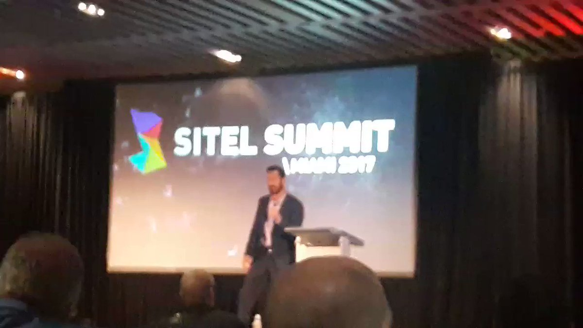 Yeah, @brandon_casteel ROCKED THE STAGE! 😎🎤👊👏 @CareerBuilder @Sitel_WorldWide #SitelSummit