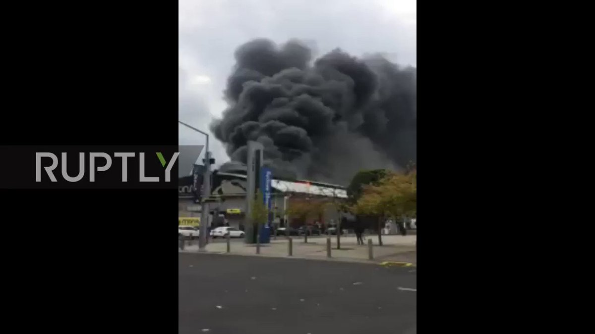 Fire breaks out at Sydney Olympic Park, man hospitalized