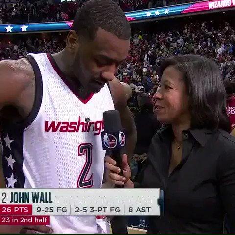 John Wall wasn't into the Celtics' dress code.