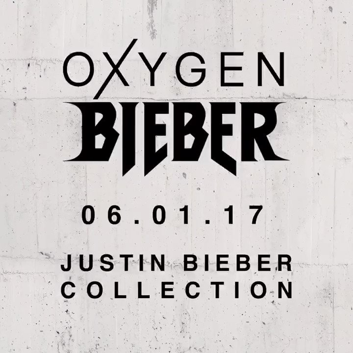 Oxygen x Bieber Collection. 06.01.17. #OxygenXBieber #OxygenClothing https://t.co/XbtksTQ31U