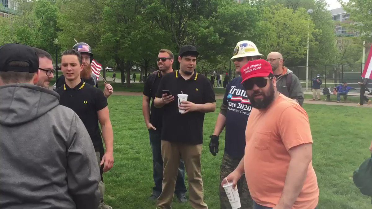 "I call on @realDonaldTrump to resign today, August 19, 2019. The Trump Youth aka ""Proud Boys"" are fucking idiots. The shame you should take from the embarrassment of those you represent is enough for this to be your #TimeToResign. What the actual Fuck"