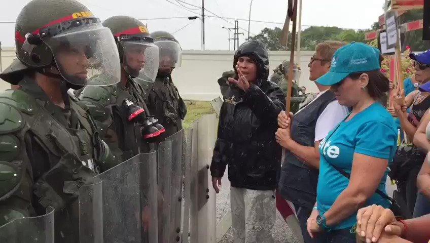 Protest against Maduro dictatorship in Maturin